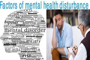 Factors of mental health